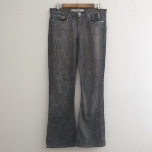 Joe's Distressed Bootcut Flare Jeans Gray Wash